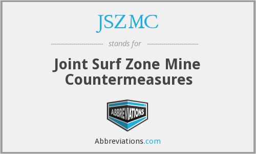 JSZMC - Joint Surf Zone Mine Countermeasures