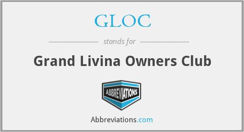 GLOC - Grand Livina Owners Club