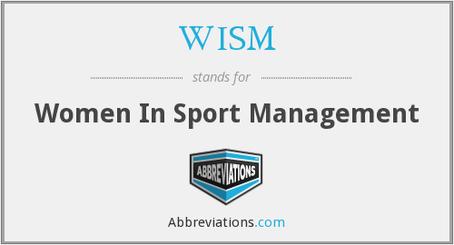 What does WISM stand for?