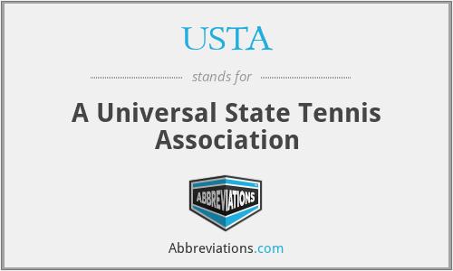 USTA - A Universal State Tennis Association