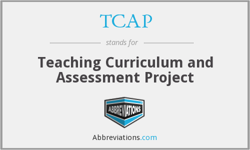TCAP - Teaching Curriculum and Assessment Project
