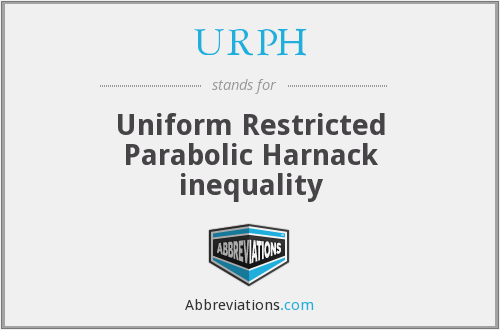 URPH - Uniform Restricted Parabolic Harnack inequality
