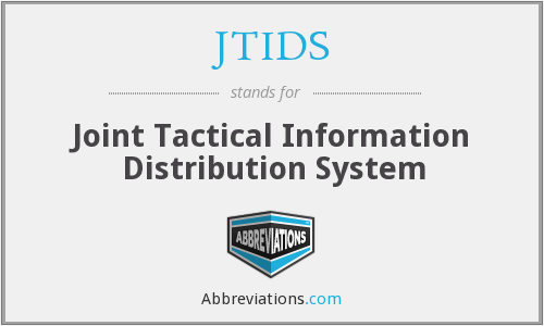 What does JTIDS stand for?