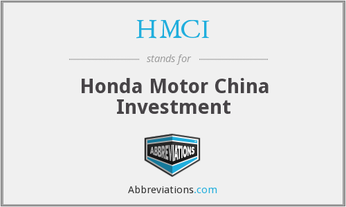 What does HMCI stand for?