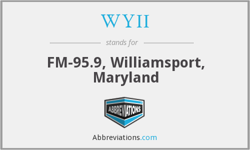 WYII - FM-95.9, Williamsport, Maryland