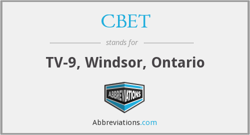 CBET - TV-9, Windsor, Ontario