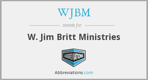 What does WJBM stand for?