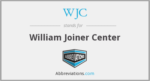 WJC - William Joiner Center