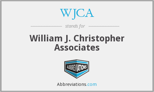 What does WJCA stand for?