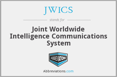 What does JWICS stand for?