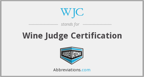 WJC - Wine Judge Certification