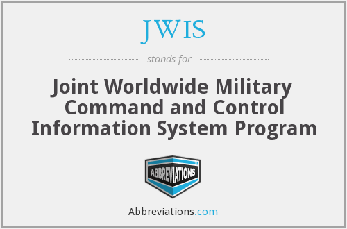 What does JWIS stand for?