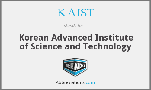 What does KAIST stand for?