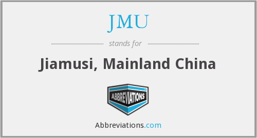 JMU - Jiamusi, Mainland China