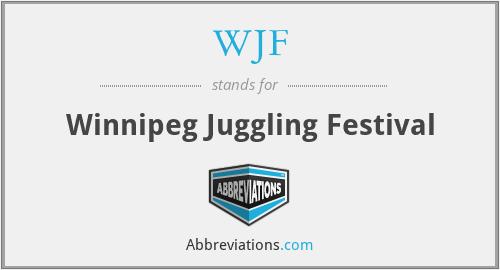 WJF - Winnipeg Juggling Festival