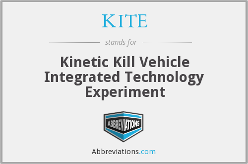 KITE - Kinetic Kill Vehicle Integrated Technology Experiment