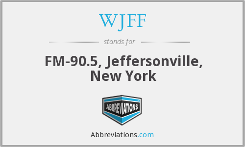 WJFF - FM-90.5, Jeffersonville, New York