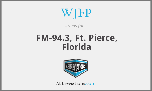 WJFP - FM-94.3, Ft. Pierce, Florida