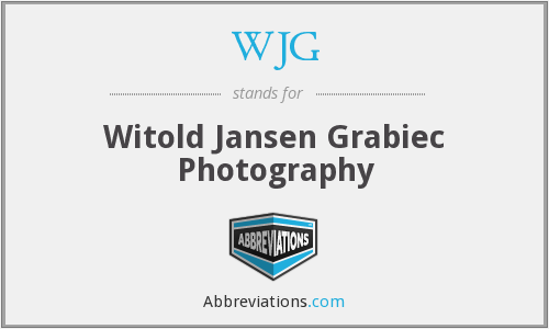 WJG - Witold Jansen Grabiec Photography
