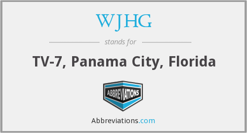 What does WJHG stand for?