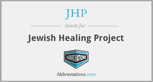 JHP - Jewish Healing Project