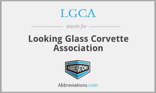 LGCA - Looking Glass Corvette Association