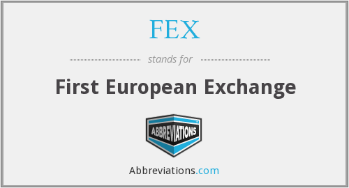 What does FEX stand for?