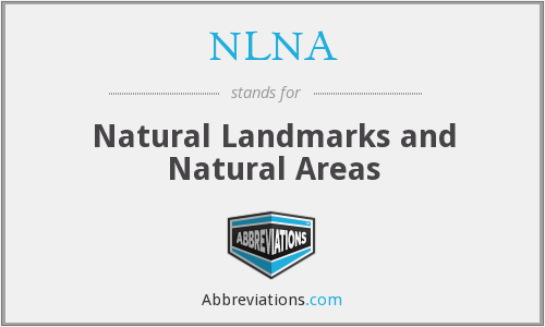 NLNA - Natural Landmarks and Natural Areas