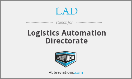 LAD - Logistics Automation Directorate