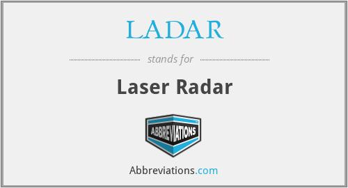 LADAR - Laser Radar