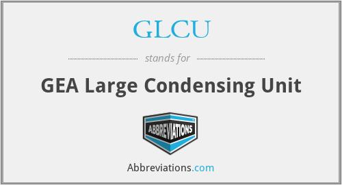 GLCU - GEA Large Condensing Unit