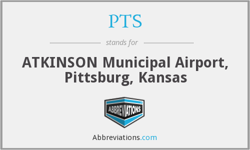 PTS - ATKINSON Municipal Airport, Pittsburg, Kansas