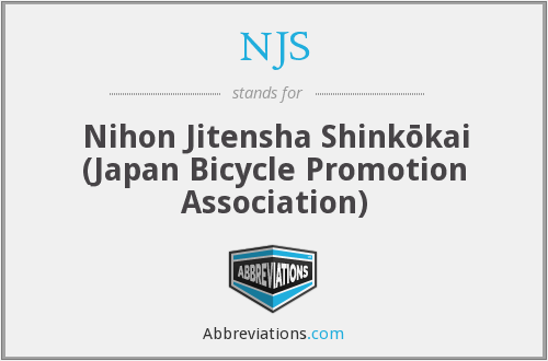 NJS - Nihon Jitensha Shinkōkai (Japan Bicycle Promotion Association)