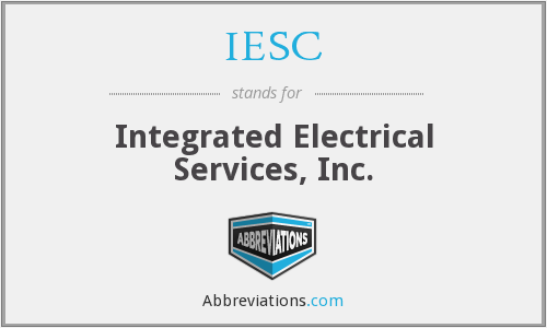 IESC - Integrated Electrical Services, Inc.