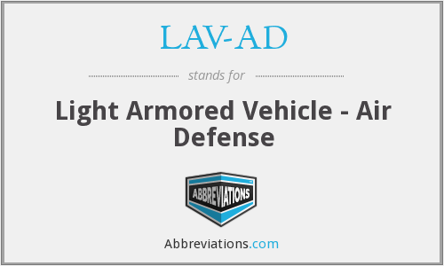 What does LAV-AD stand for?
