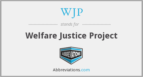 WJP - Welfare Justice Project