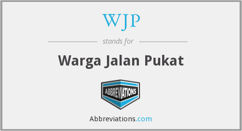 WJP - Warga Jalan Pukat