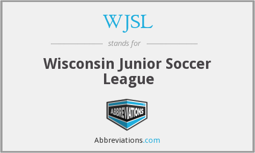 What does WJSL stand for?