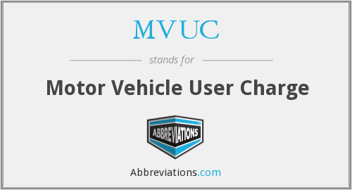 What does MVUC stand for?