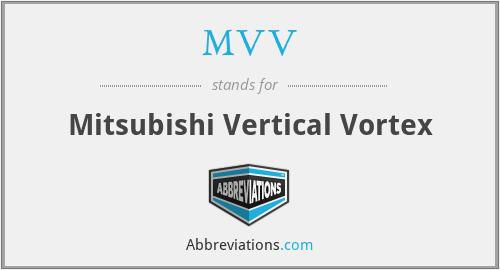 MVV - Mitsubishi Vertical Vortex