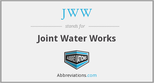 JWW - Joint Water Works