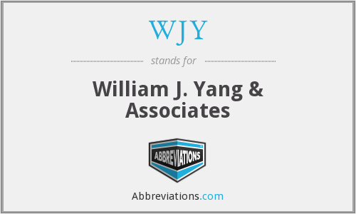 What does WJY stand for?