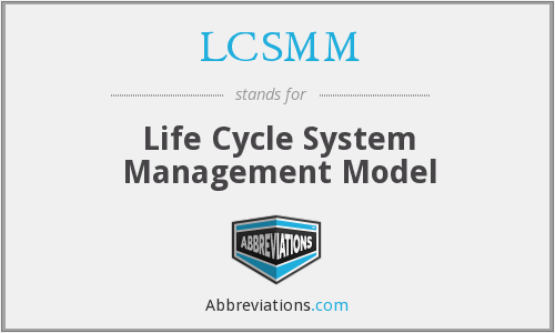What does LCSMM stand for?
