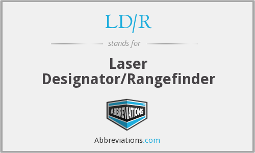What does LD/R stand for?