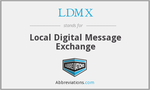 What does LDMX stand for?