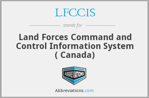 What does LFCCIS stand for?