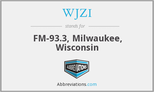 WJZI - FM-93.3, Milwaukee, Wisconsin