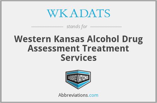 WKADATS - Western Kansas Alcohol Drug Assessment Treatment Services
