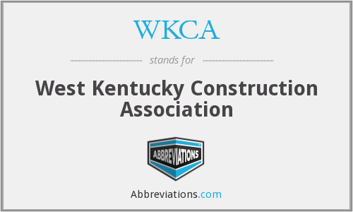 What does WKCA stand for?