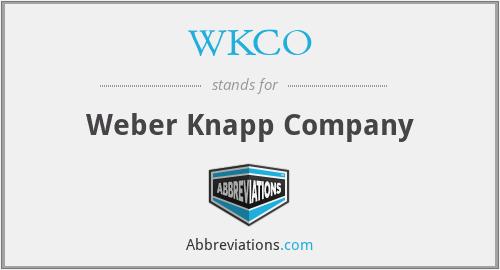 WKCO - Weber Knapp Company